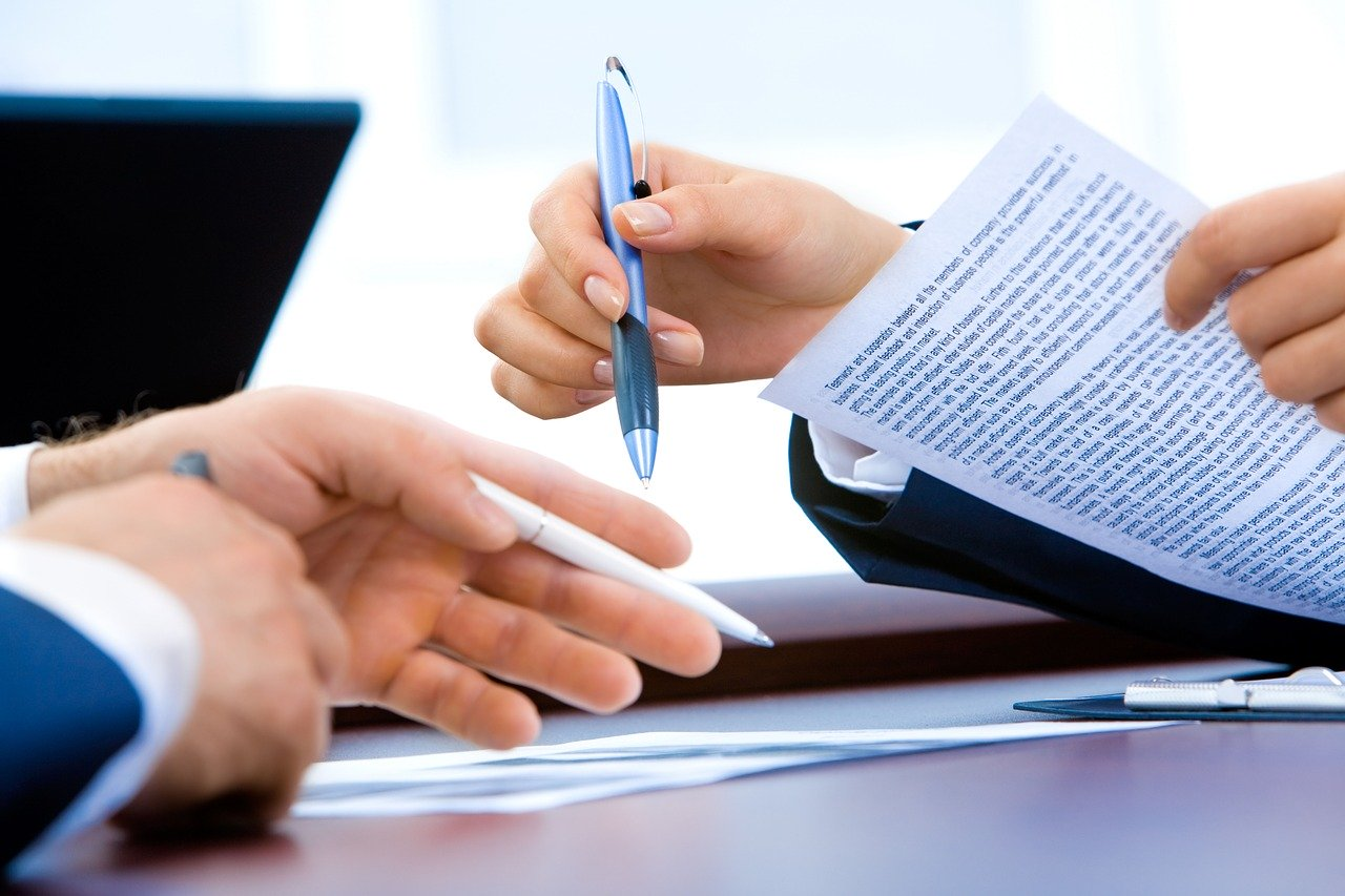rebate-management-meeting-hand-writing-laptop-showing-best-practice-procurement-in-business-document